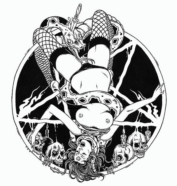 Pentagrama by Bicicleta Sem Freio, via FlickrLatest Post, Supersonics Electronics, Supersonics Art, Determinist Random, Graphics Design, Image, Sem Freio, Bicicletas Sem