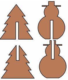 Décoration de Noël dessin architectural 1