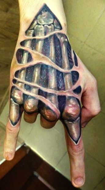 79 best images about cool 3d tatts on pinterest armors for 3d hand tattoo