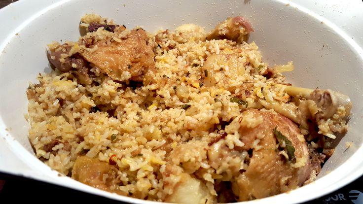 La vrai recette du briani au poulet ou biryani à la mauricienne