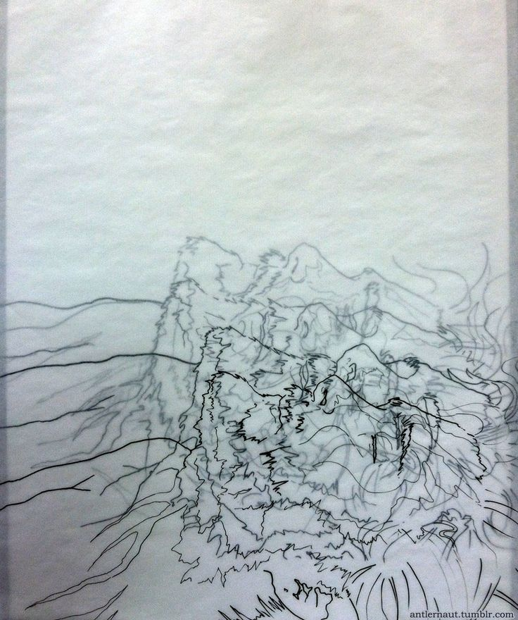 how to use tracing paper in painter