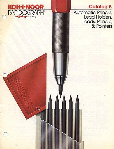 Koh I Noor Rapidograph 1985 Catalog B