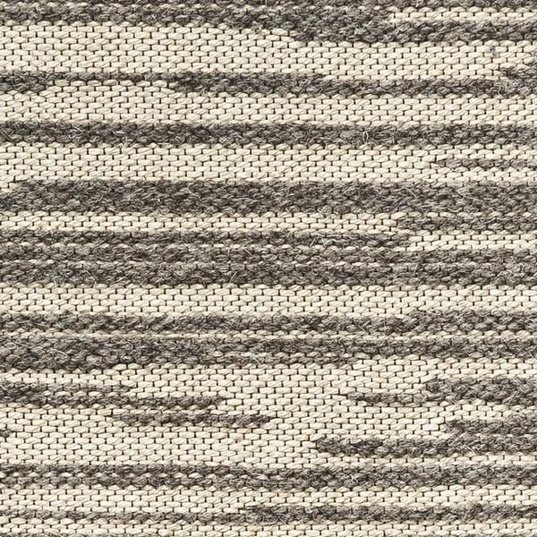 Rake Wool And Linen Rug In The Stone Colorway, Part Of The Celerie Kemble By