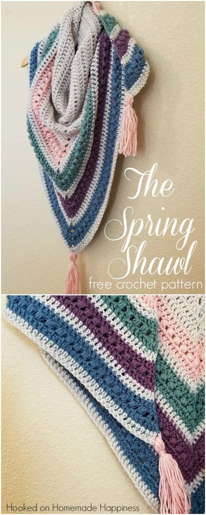 beb38776f4f3f2 The Spring Shawl Crochet Pattern- it s that time of year again