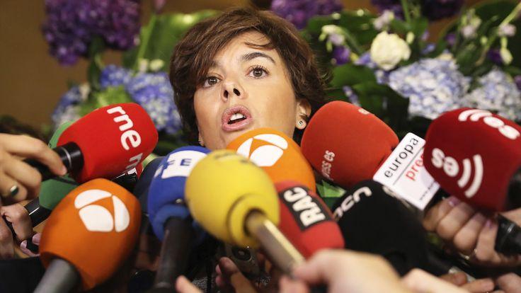 El zasca de Soraya a los manifestantes de Bruselas: Están allí por su DNI español y la UE que critican