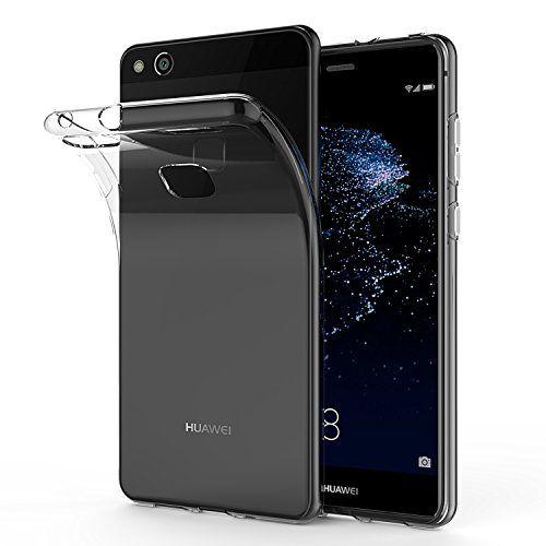 nice Carcasa Huawei P10 Lite, SPARIN Huawei P10 Lite Funda, TPU Transparente Funda,  Carcasa, Funda de Silicona, Espalda Protección Carcasa P10 Lite 2017