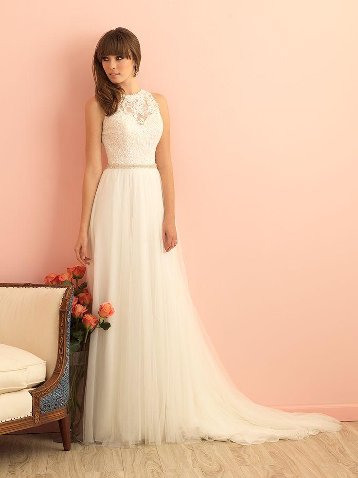 Best 25 allure wedding gowns ideas on pinterest allure for Allure long sleeve wedding dress