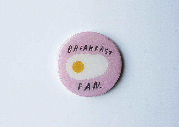 breakfast fan - pink circle on Etsy, £6.87