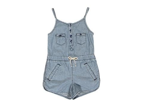 Juicy Couture Kids Denim Romper (Big Kids) Abiline - 6pm.com