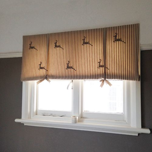 17 best images about making blinds on pinterest fabric for How to make roll up curtains
