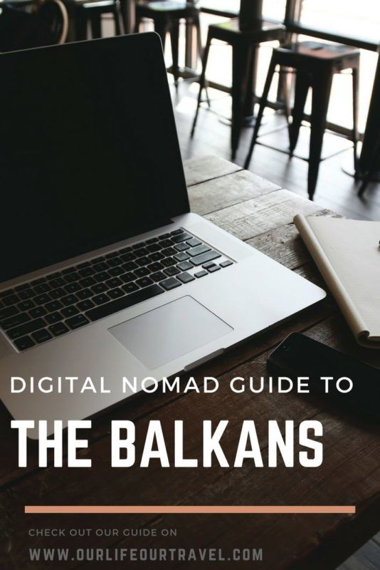 How much does it cost to be a digital nomad in the Balkans? Can you work from there remotely? Check out our experiences and expenses! #albania #bosnia #digitalnomad #life #expenses #balkans