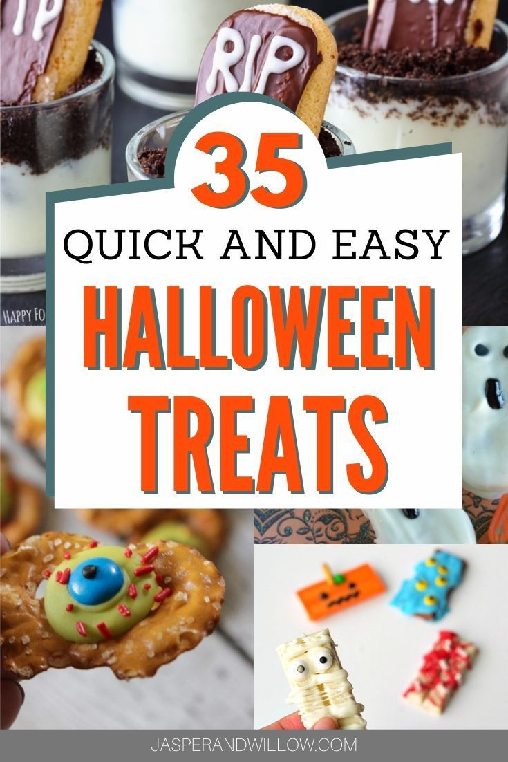 View Easy And Simple Halloween Treats PNG