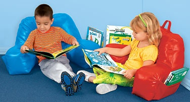 The Reading Pillow Extra Cushy And Sized Just For Kids