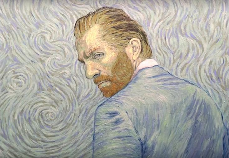Loving Vincent upcoming documentary with Van Gogh style frames