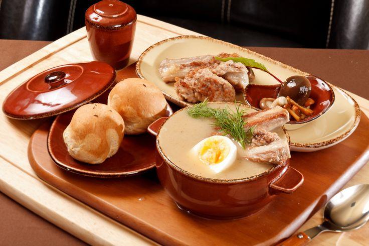 Польская кухня рецепты суп журек