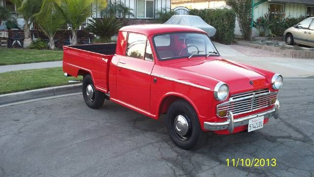 1965 datsun one off extended cab pickup truck for sale hemmings motor news old running. Black Bedroom Furniture Sets. Home Design Ideas