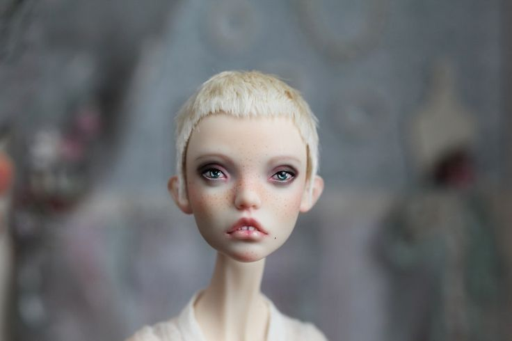 Extra short wig for doll by ElcatkaCorner on Etsy