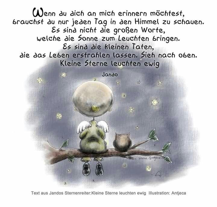 Kleine Sterne (Jando). Illu by Antjeca