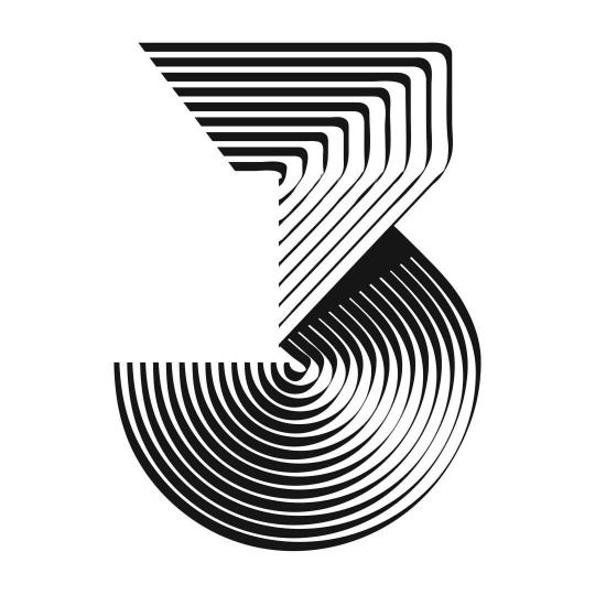 #typography #number #3