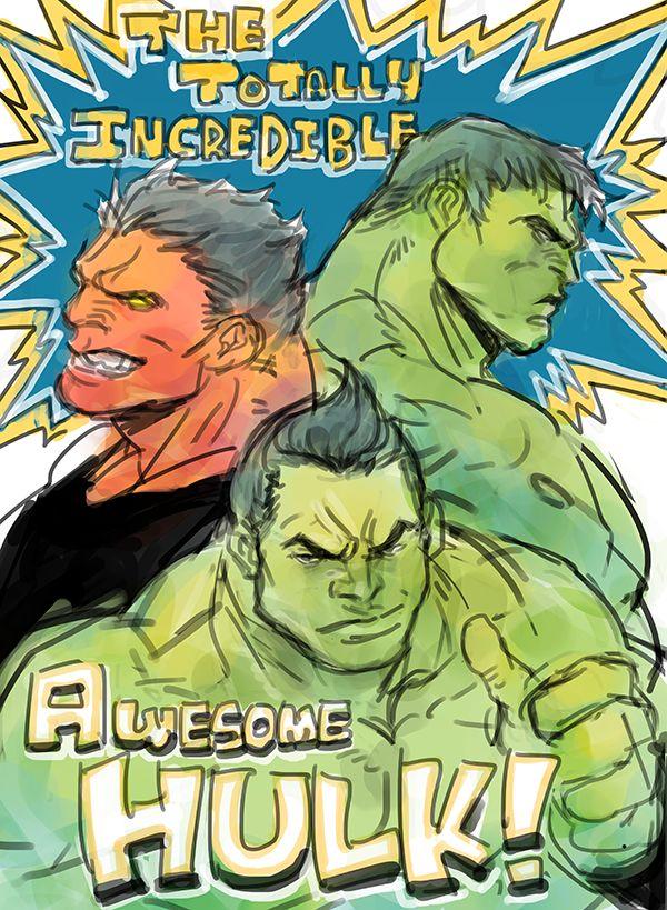 #Hulk #Fan #Art. (New hulk?) By:Dogsup. (THE * 5 * STÅR * ÅWARD * OF: * AW YEAH, IT'S MAJOR ÅWESOMENESS!!!™)[THANK Ü 4 PINNING<·><]<©>ÅÅÅ+(OB4E)