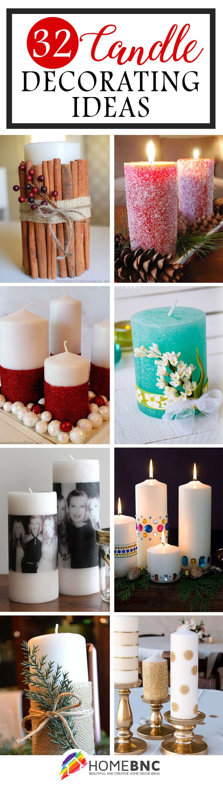 Decorated Candle Ideas