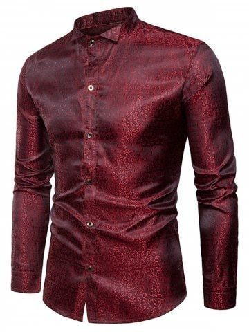 23f8e49abc6e 30 Men Outfit Style Clothes Slim Fit Men Long Sleeve Shirt