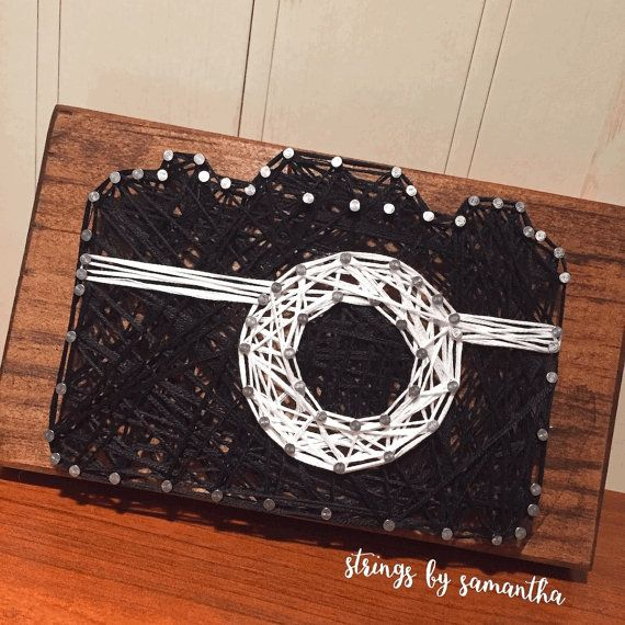 MADE TO ORDER  Camera String Art Sign by StringsbySamantha on Etsy