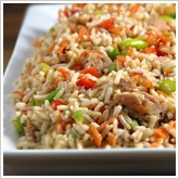 Tropical Rice Salad from Beachbody.com or P90X Newsletter