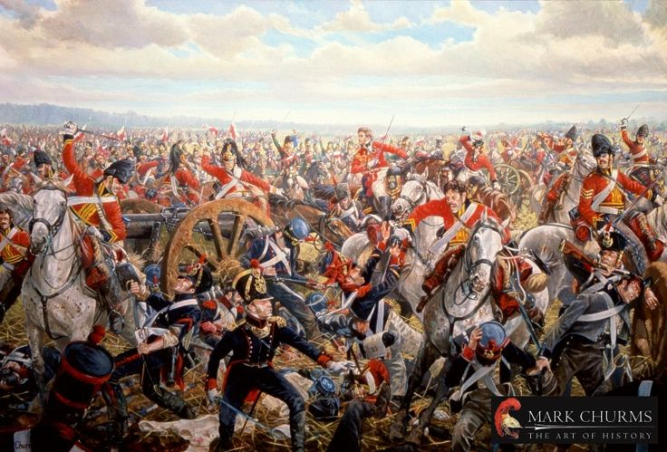 June 18, 1815: At the Battle of Waterloo, Napoleon is defeated by an international army under the Duke of Wellington.