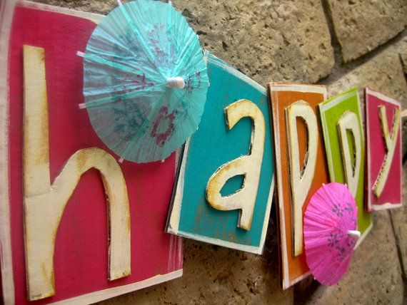 Cute banner for a summer party