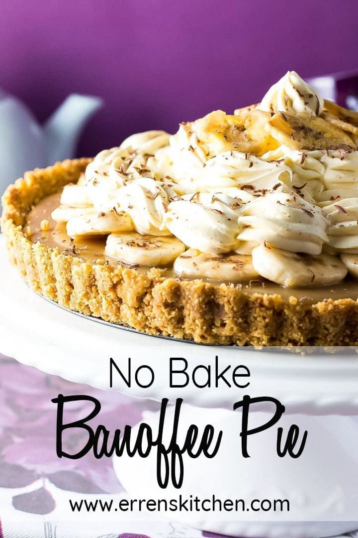 No Bake Banoffee Pie Recipe Banoffee Pie Banoffee Pie Recipe Banoffee
