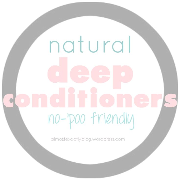 no-'poo friendly deep conditioners to add to your routine, keeping hair conditioned and healthy