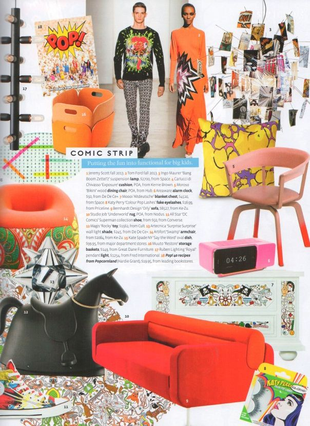 Belle Magazine September 2013 | Our Great Dane Contract Clip Chair By De  Vorm, Our