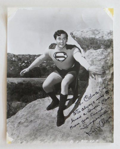 Kirk Alvin Signed Original Superman Autographed Photo (PSA/DNA) @ niftywarehouse.com #NiftyWarehouse #Superman #DC #Comics #ComicBooks