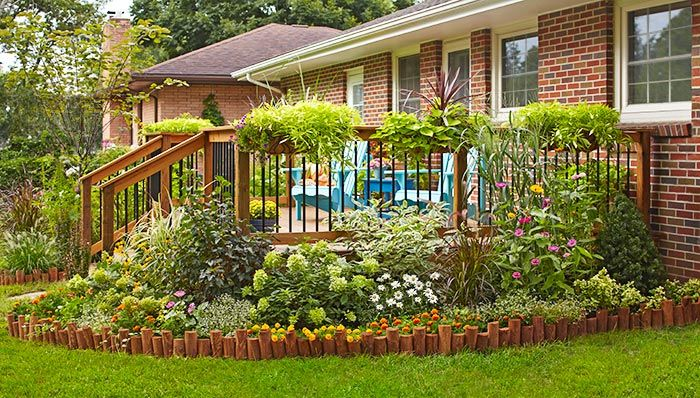 Without Plants To Soften Its Lines A Deck Can Seem Out Of