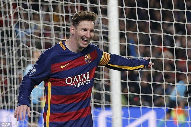 The 28-year-old forward has recently returned to action for Barca following a spell on sidelines due to injury