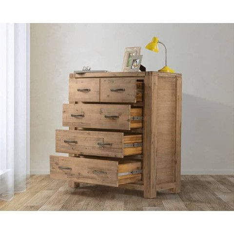 Chest of Drawers - Acacia Wood
