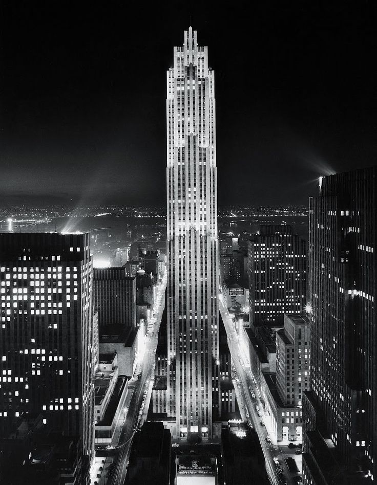 Midtown Manhattan, New York City, circa 1945. Photo by