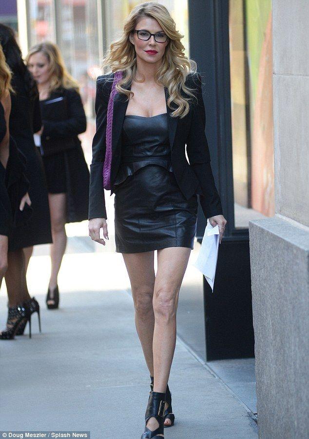 Brandi Glanville and Kate Gosselin on set of Celebrity Apprentice - Celebrity Fashion Trends