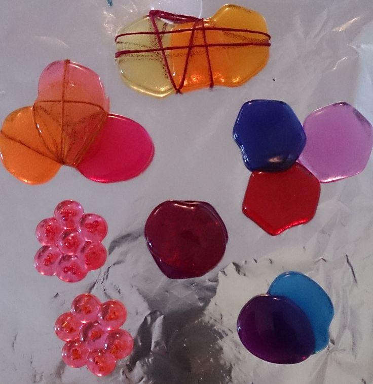 Melting Plastic Beads