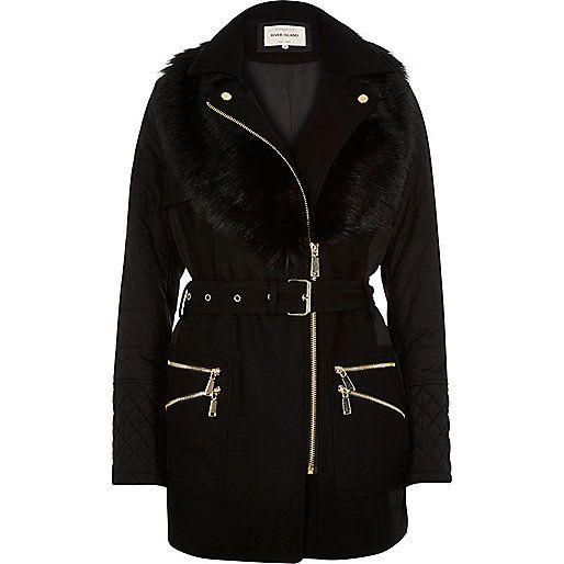 1000  ideas about Fur Collar Jacket on Pinterest | Shrimps coat