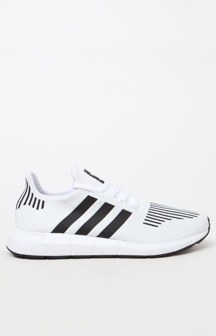 amp; Swift ۰• Run Adidas Pinterest White Shoes •۰ Black qSxaBUtw4