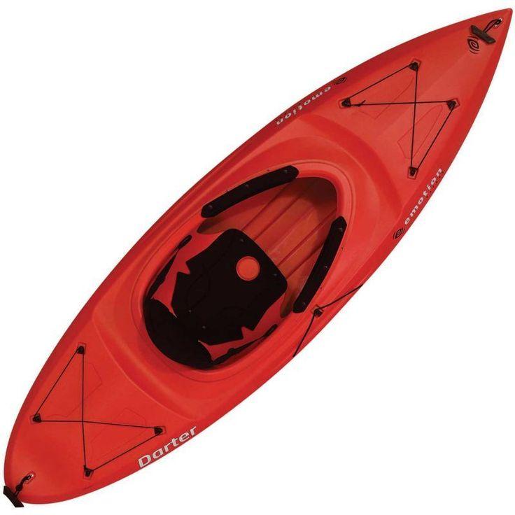 Emotion Darter 9 Kayak, Red