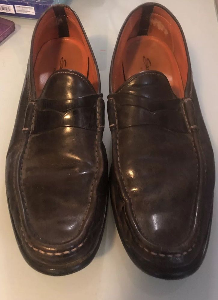 18f87cf022b Santoni Gray Penny Loafer Made in Italy Size US 12 D  fashion  clothing   shoes  accessories  mensshoes  dressshoes (ebay link)