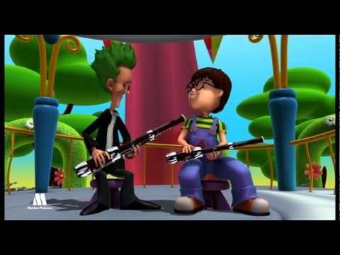 Los instrumentos de viento madera, educativos musica para niños - YouTube