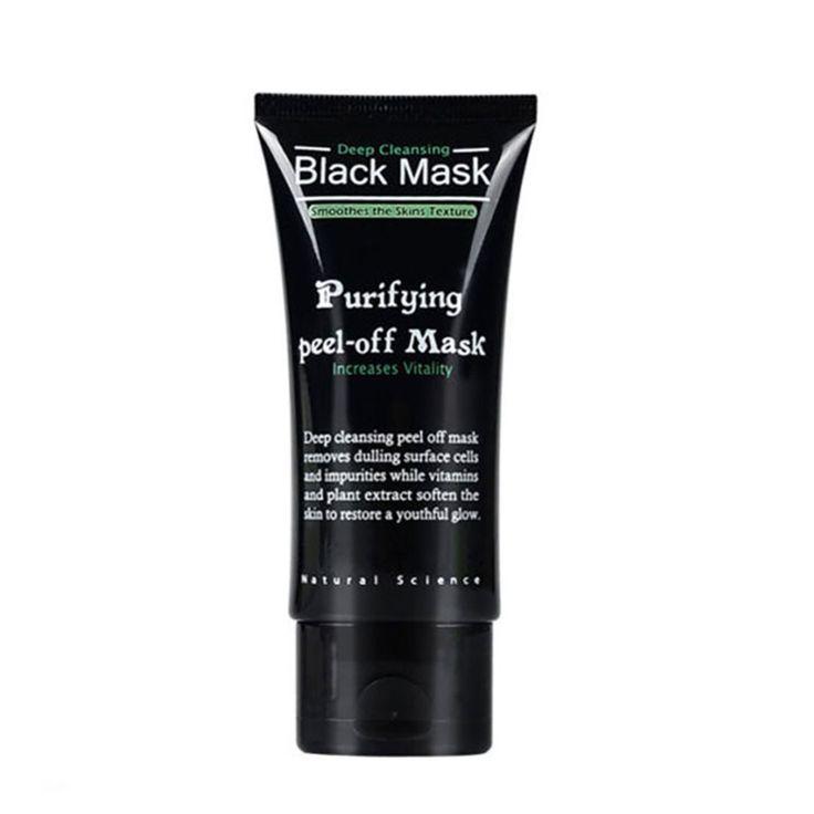 50 ml בוץ שחור מסיר חטט ניקוי העמוק לטיהור מתקלפת פנים טיפוח עור