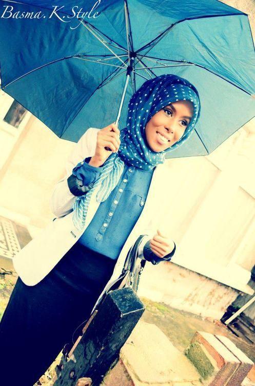 Basma K #style #hijab #hijabi #fashion