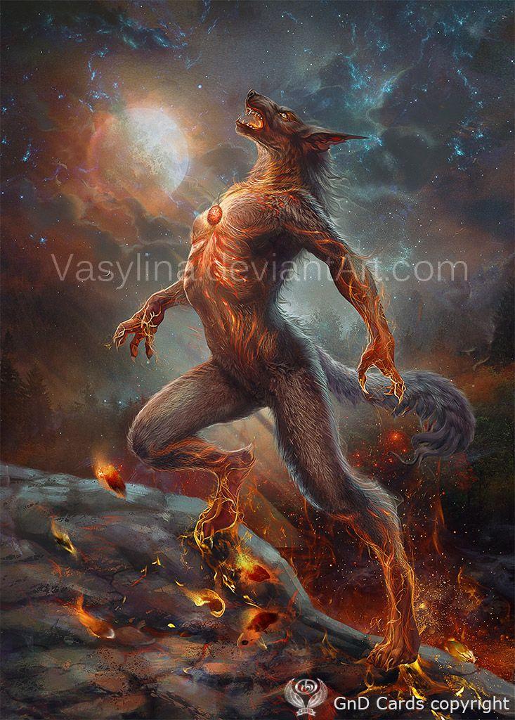 She Wolf Wolf Art Fantasy Shadow Wolf Werewolf Art