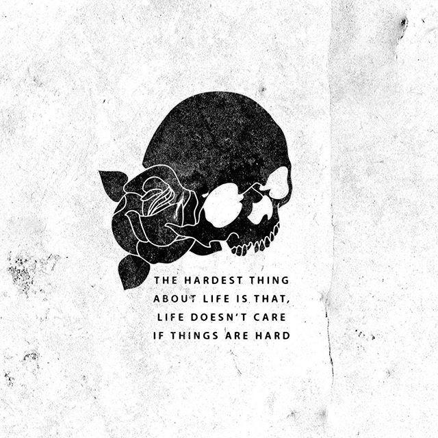 The hardest thing.  #design #branding #logo #illustration #blackwork #graphic #minimalist #icon #slowroastedco #tdkpeepshow