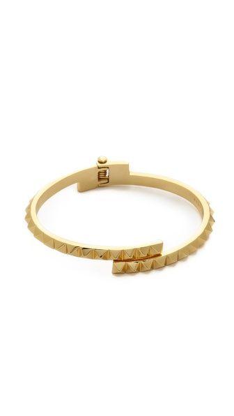 Rebecca Minkoff Studded Hinge Cuff Bracelet